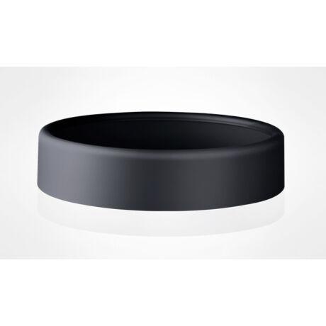 Fekete szemetes tető
