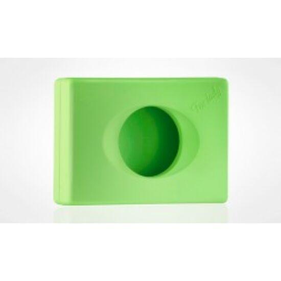 Higiéniai zacskótartó zöld