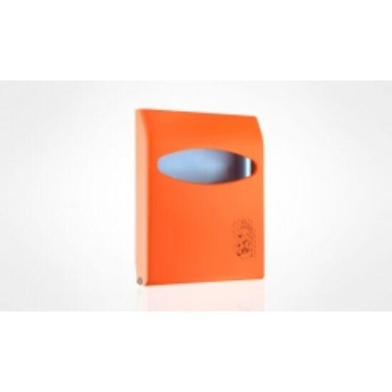 Wc ülőkepapírtartó narancssárga