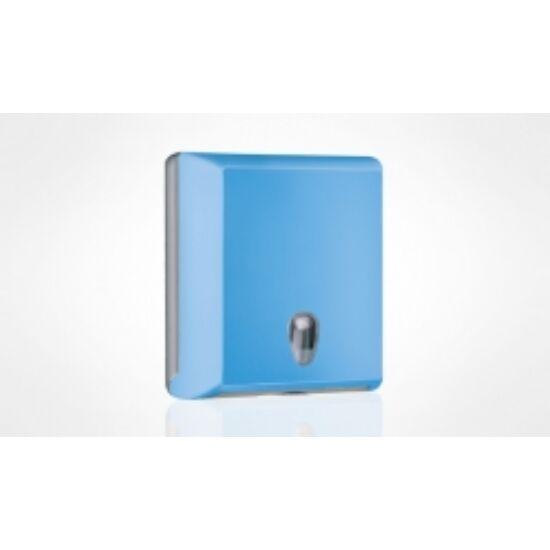 Hajtogatott kéztörlőtartó kék