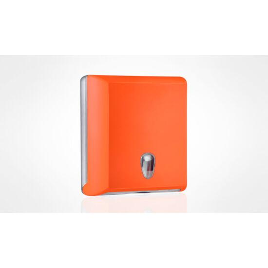 Hajtogatott kéztörlőtartó narancssárga