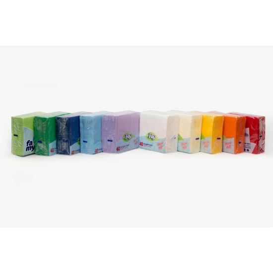 Fay színes szalvéta 33x33 cm