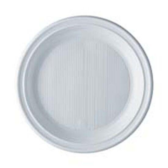 műanyag fehér desszerttányér