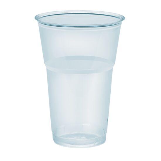 Műanyag víztiszta pohár 4 dl 25 db/csomag
