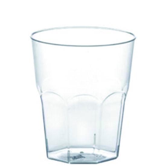 Víztiszta/ átlátszó pohár